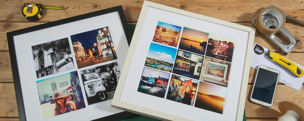 Instagram Framed Print
