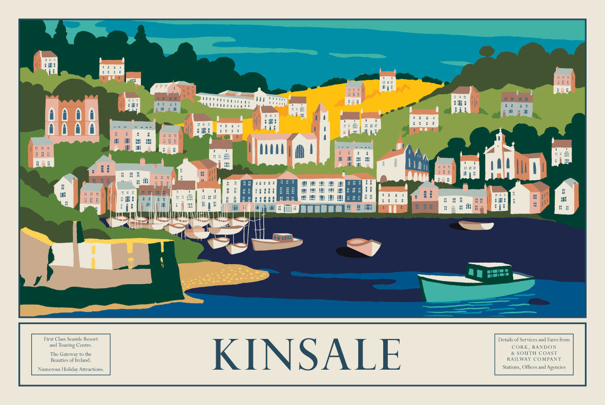 Kinsale, Gateway to Beauties of Ireland (Landscape)