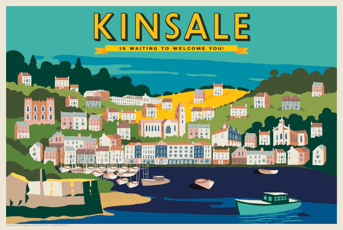 Kinsale is Waiting to Welcome You (Landscape)