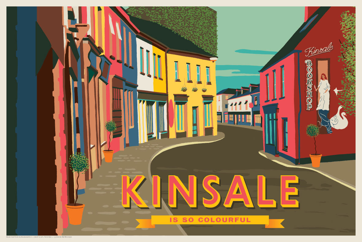 Kinsale is So Colourful (Landscape)