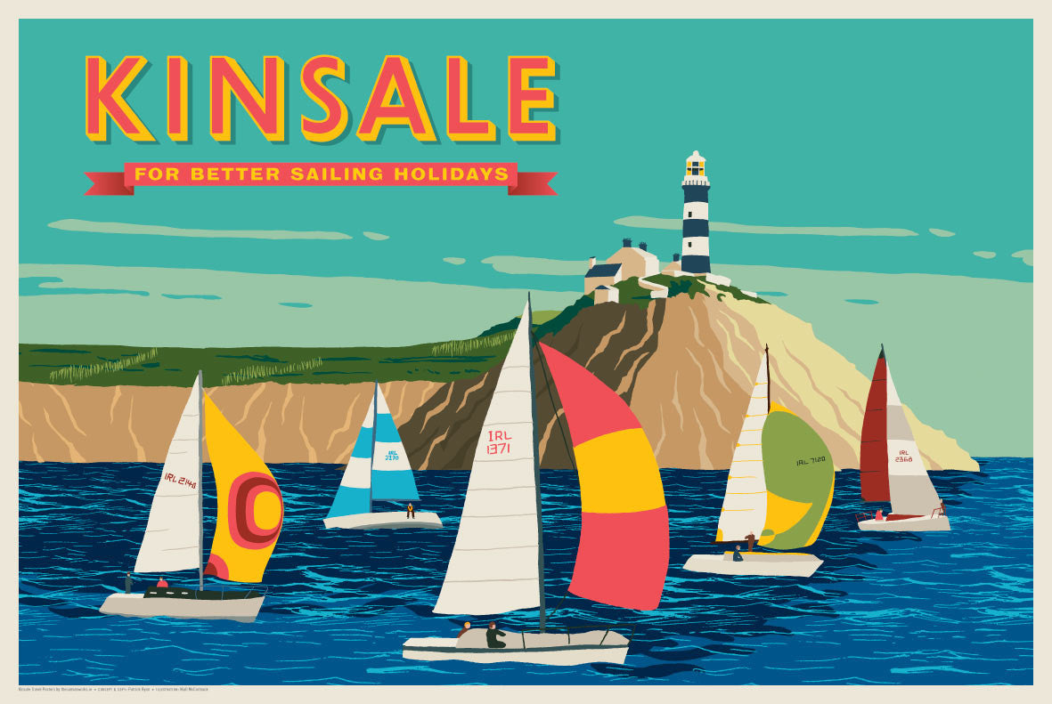 Kinsale, For Better Sailing Holidays (Landscape)