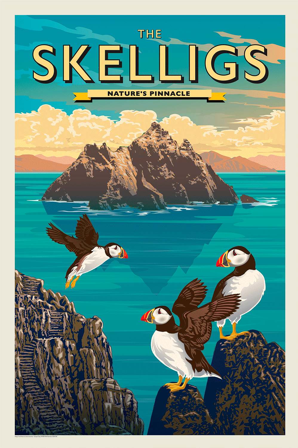 The Skelligs, Nature's Pinnacle