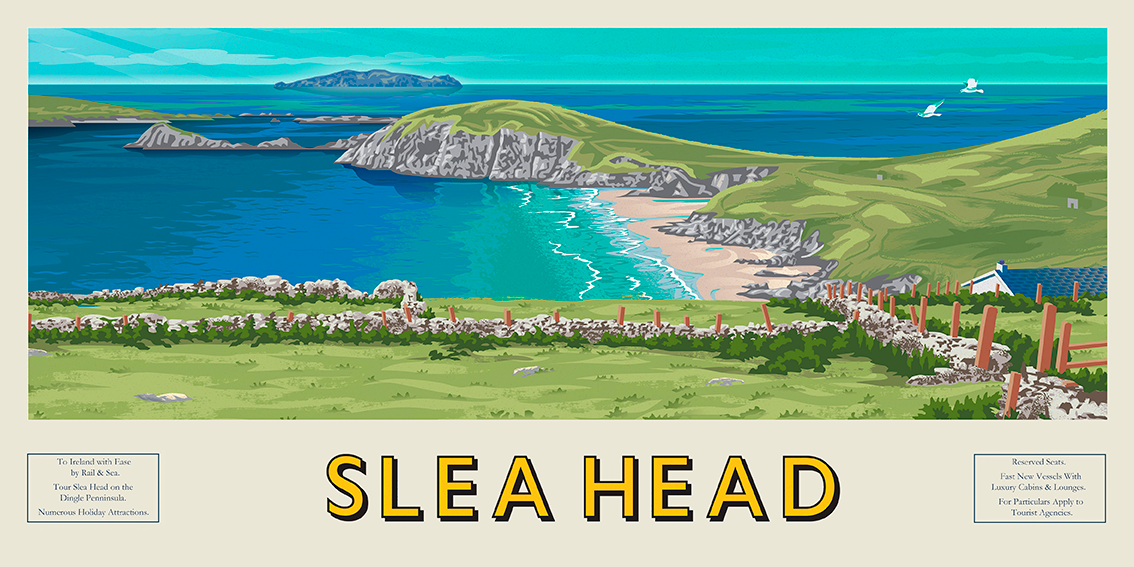 Slea Head Panoramic, Dingle Penninsula