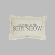 Load image into Gallery viewer, Welcome To The Shitshow Lumbar Pillow