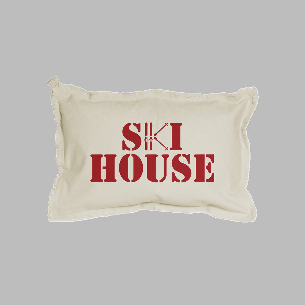 Ski House Lumbar Pillow