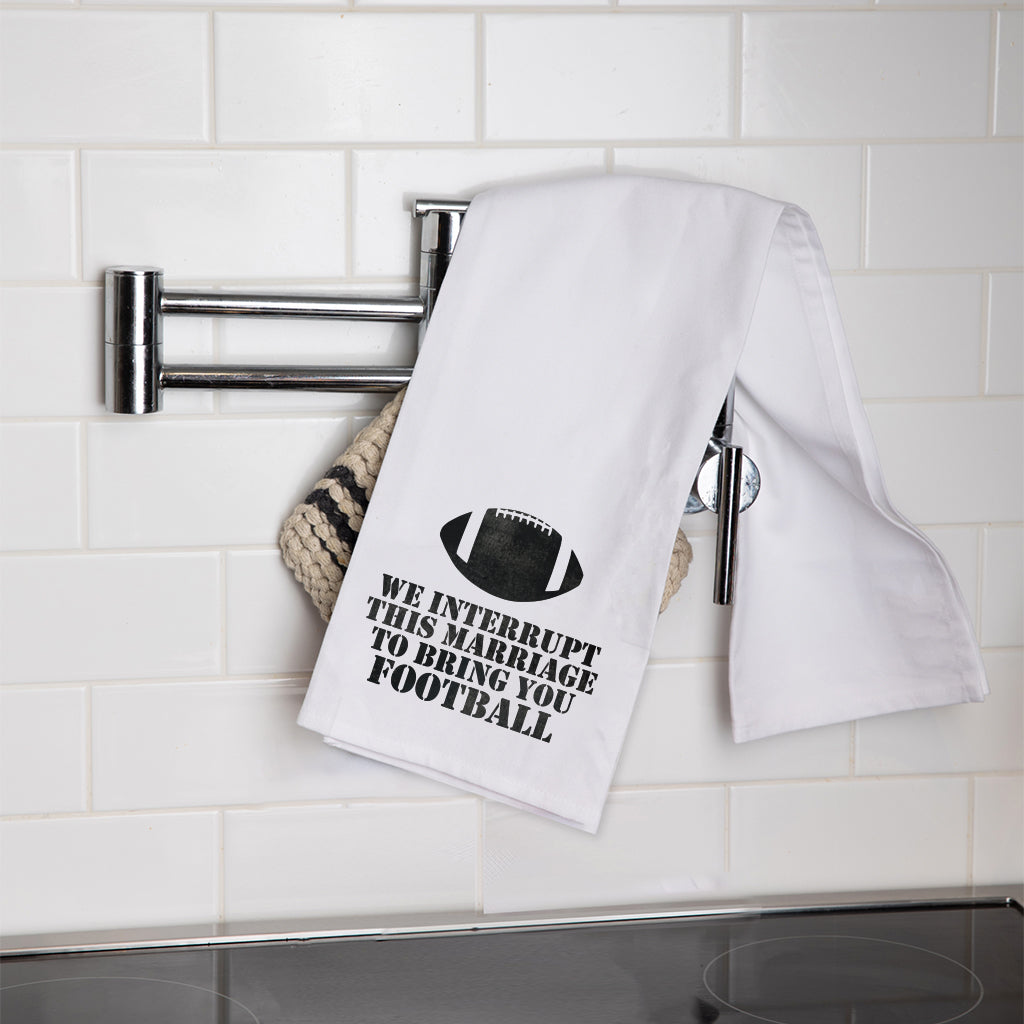 Interrupt For Football Tea Towel