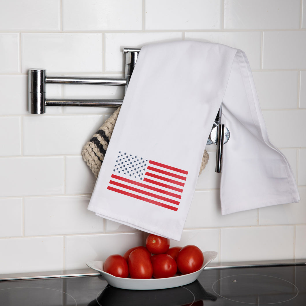 50 Stars Flag Tea Towel