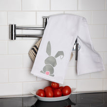 Load image into Gallery viewer, Bunny Tea Towel