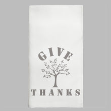 Load image into Gallery viewer, Give Thanks Tea Towel