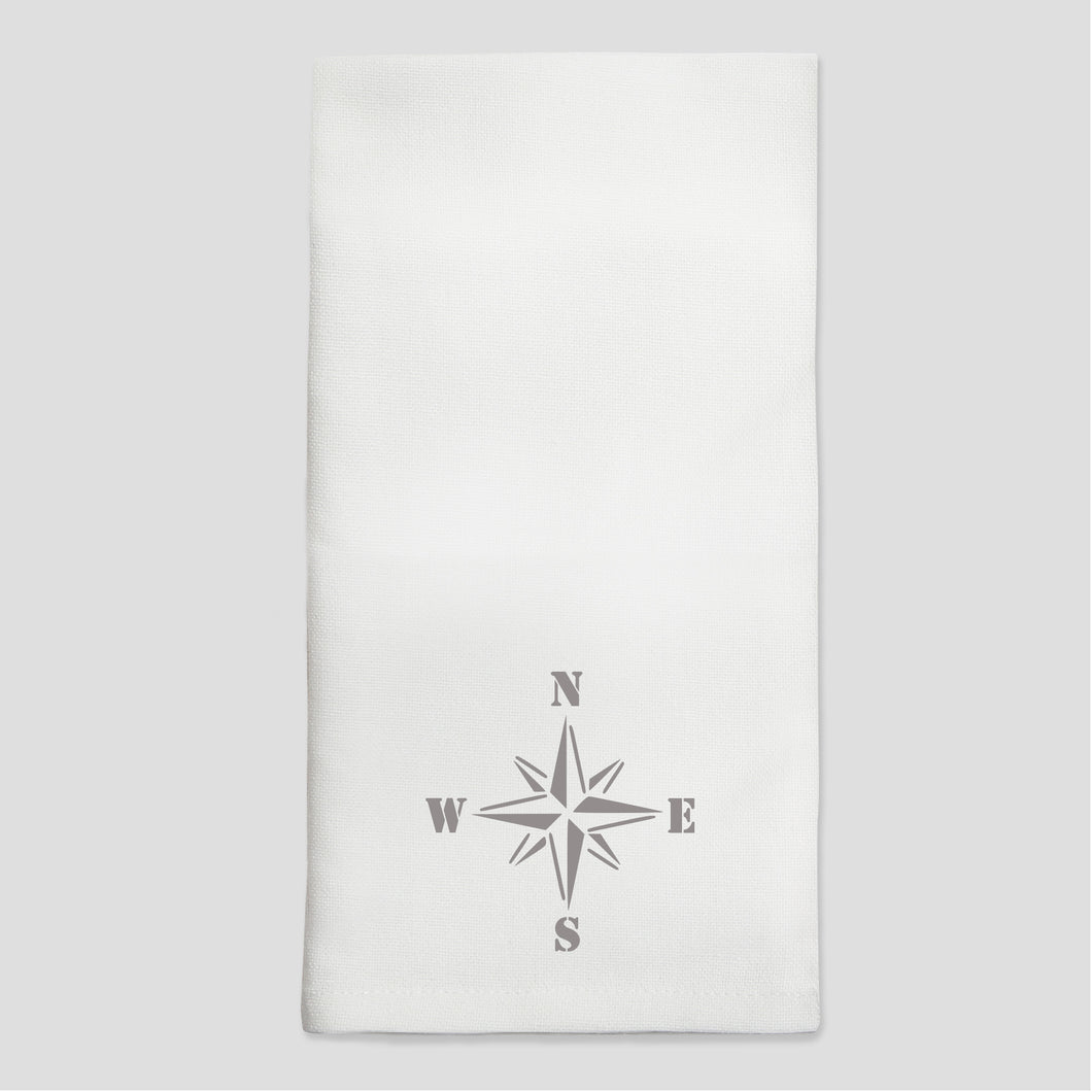 Compass Dinner Napkins - Set of 4