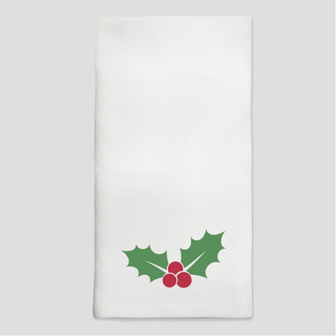 Holly Dinner Napkins - Set of 4