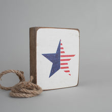 Load image into Gallery viewer, American Star Decorative Wooden Block