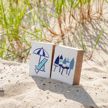 Load image into Gallery viewer, Beach Chair Decorative Wooden Block