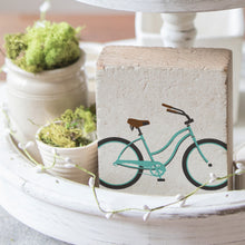 Load image into Gallery viewer, Bike Decorative Wooden Block