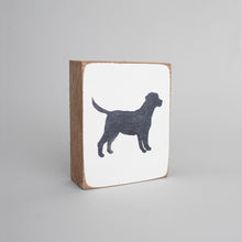 Load image into Gallery viewer, Dog Decorative Wooden Block