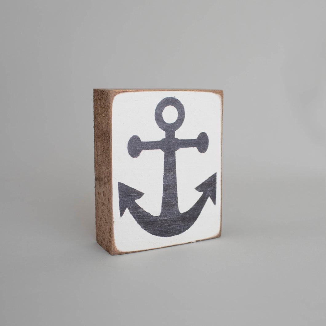 Symbol Decorative Wooden Block