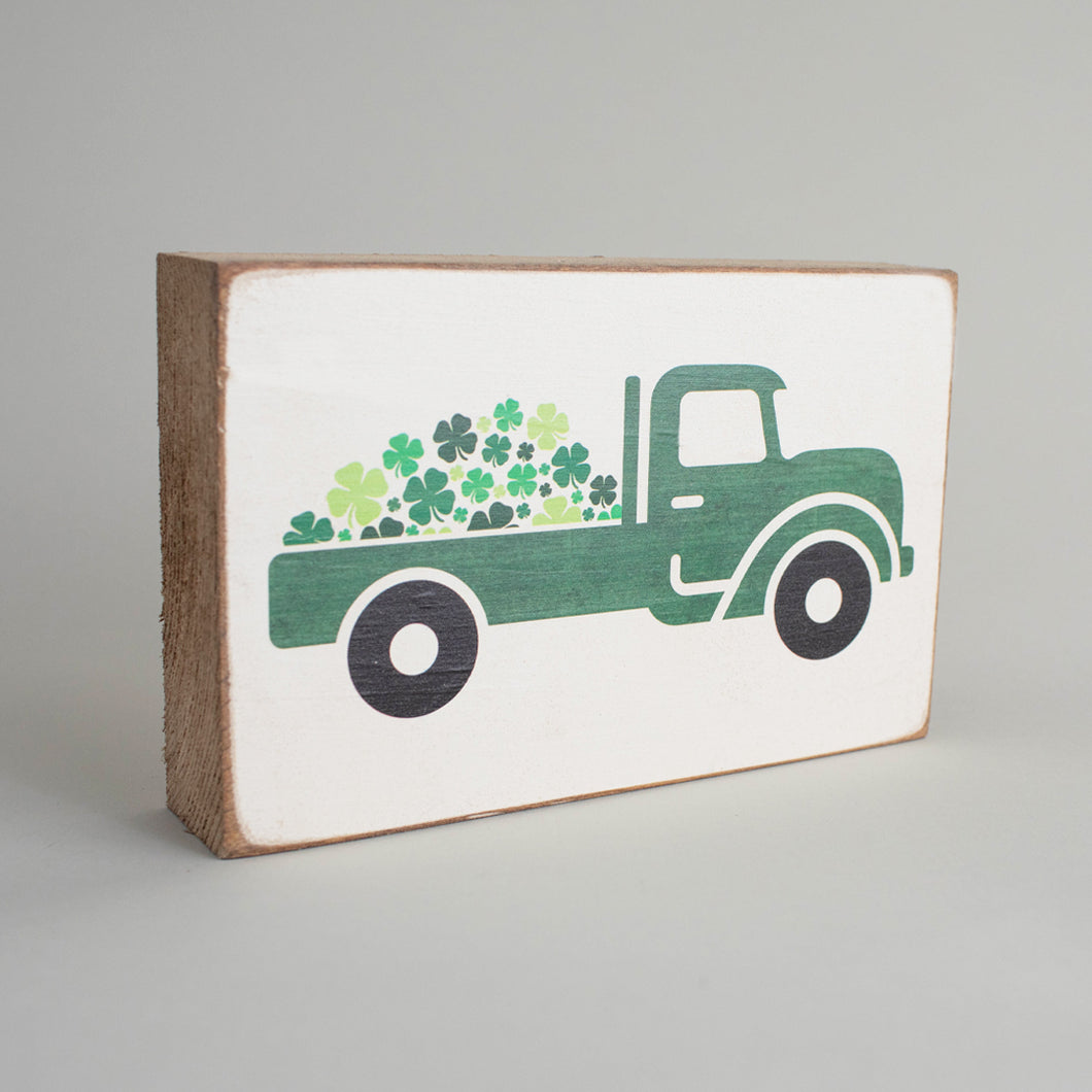 Loads Of Luck Decorative Wooden Block