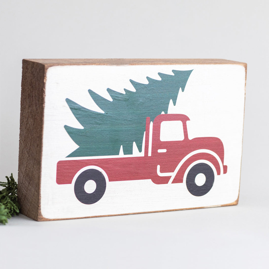 Tree Truck Decorative Wooden Block