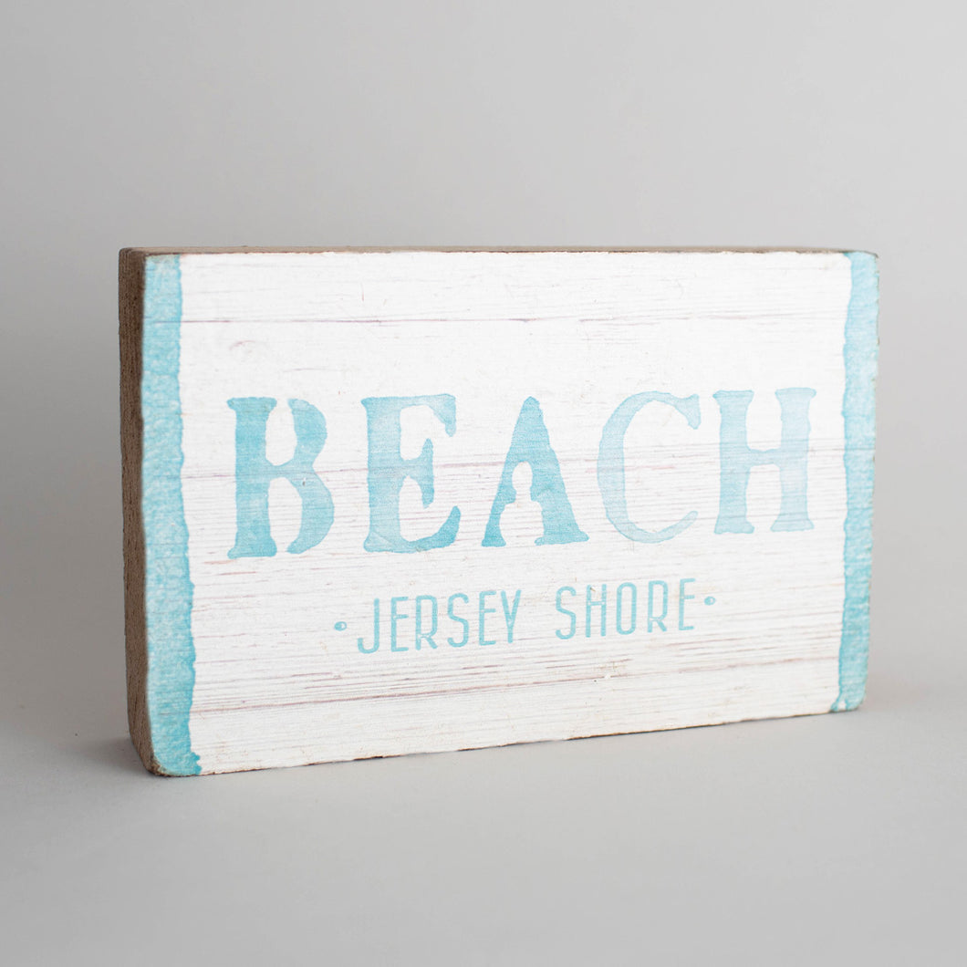 Personalized Beach Decorative Wooden Block