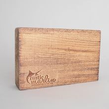 Load image into Gallery viewer, Personalized Home Shamrock Decorative Wooden Block