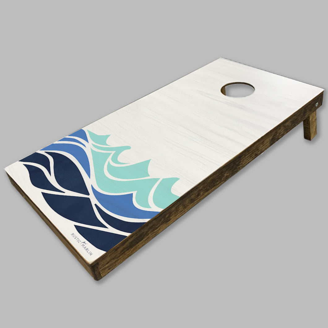 Waves Cornhole Game Set