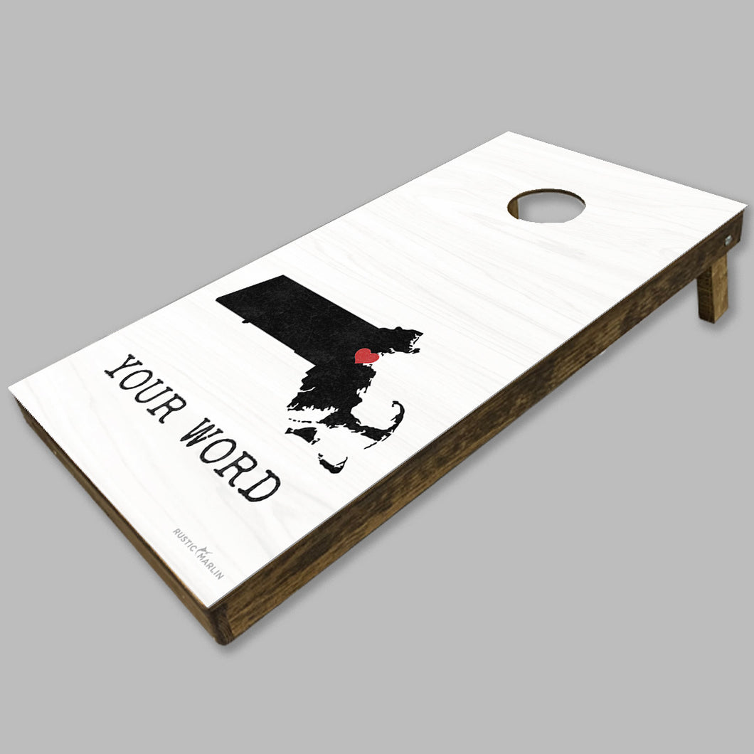 Personalized Hometown State Cornhole Game Set