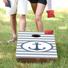 Load image into Gallery viewer, Circle Anchor Cornhole Game Set