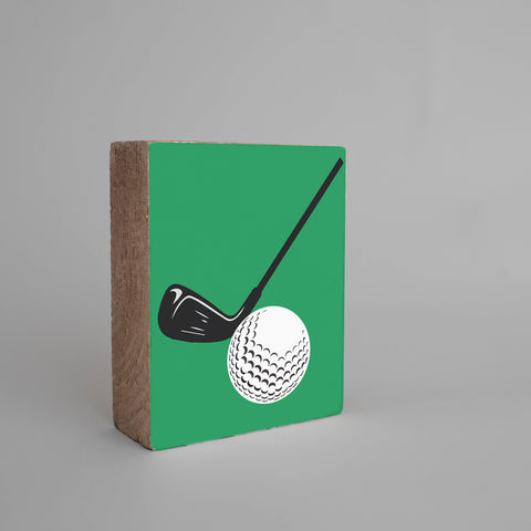 Golf Rustic Block
