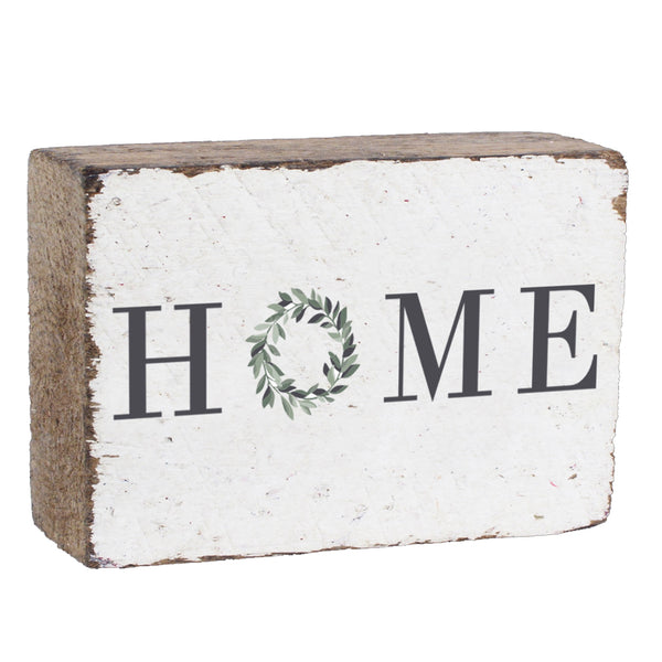 Home Wreath XL Rustic Block By Rustic Marlin Home Décor