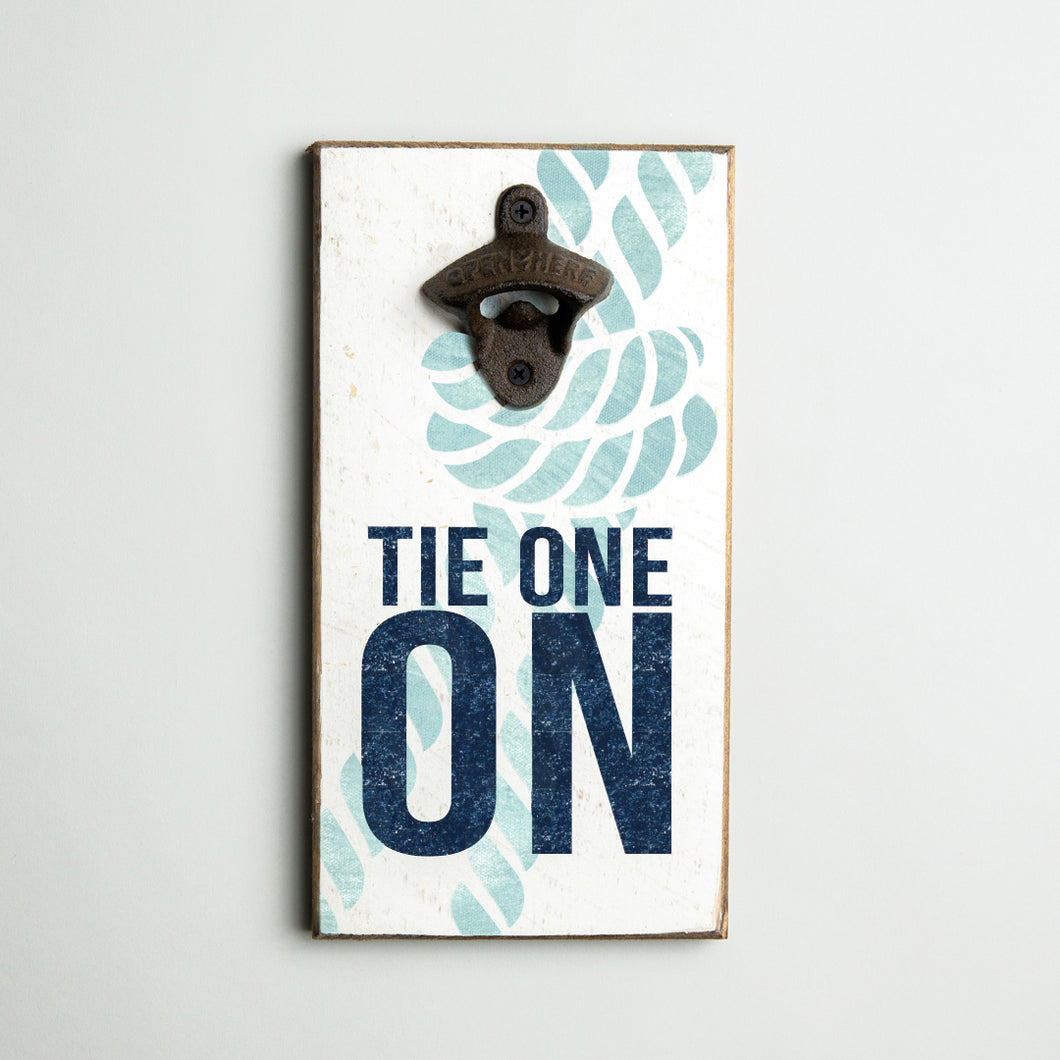 Tie One On Bottle Opener