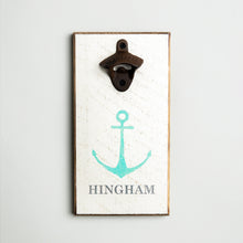 Load image into Gallery viewer, Personalized Modern Anchor Bottle Opener