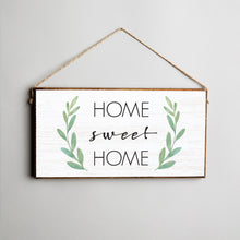 Load image into Gallery viewer, Home Sweet Home Twine Hanging Sign