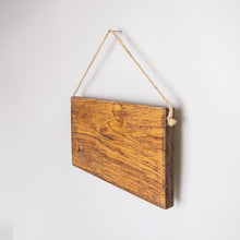 Load image into Gallery viewer, Welcome Plaid Trees Twine Hanging Sign