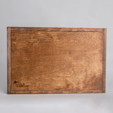 Load image into Gallery viewer, Personalized Rope Wooden Serving Tray