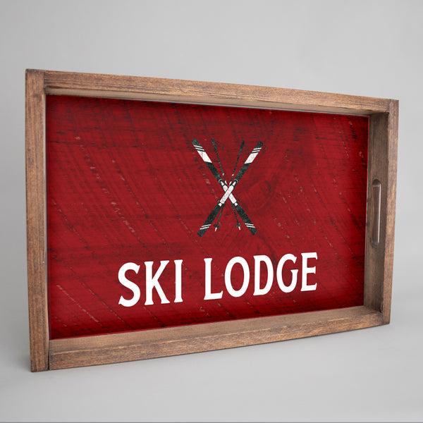 Personalized Skis Tray