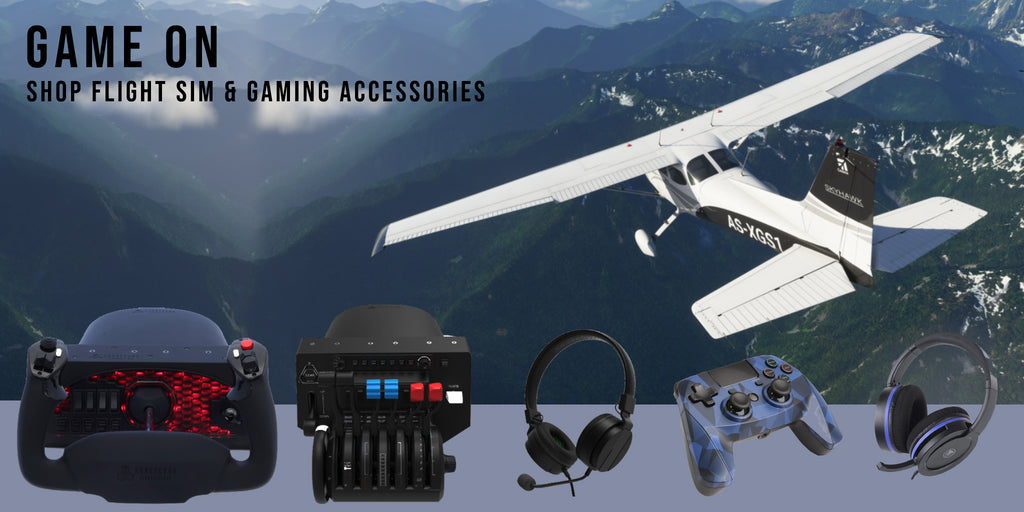 Aviation Flight Sim and Gaming Accessories