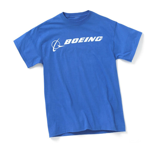 Official Boeing Logo Signature T-Shirt - Skywing World