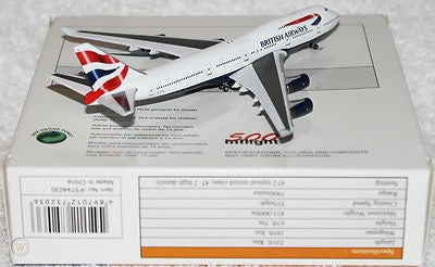 Inflight 500 British Airways Boeing B747-400 IF5744030 1:500 Scale - Skywing World
