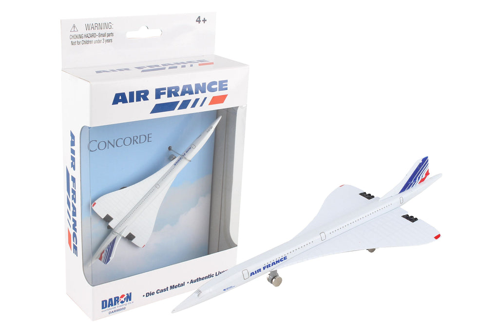 Daron WWT Air France Concorde Die-Cast Single Plane DAR98950 - Skywing World
