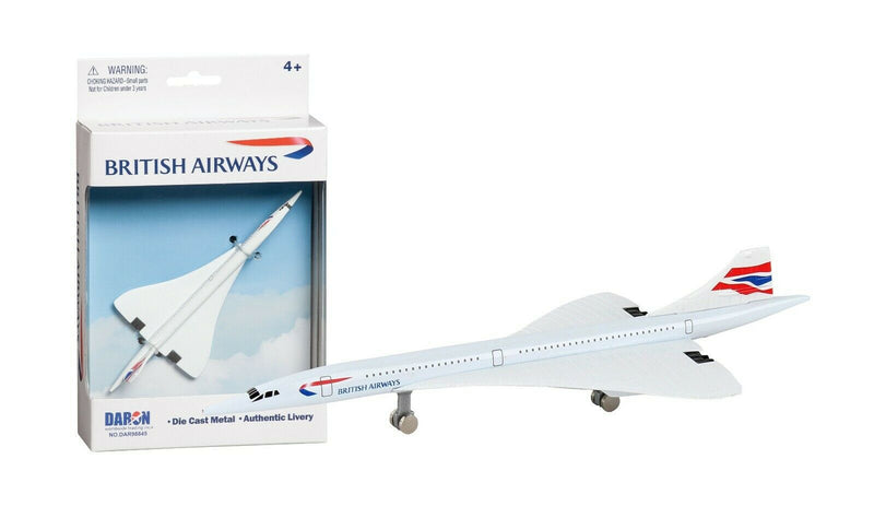 Daron British Airways Concorde Single Plane Die-Cast 184078 - Skywing World