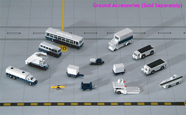 Gemini Jets 1:400 Scale 14 Piece Airport GSE Vehicles Set Accessories GJARTPSETA - Skywing World