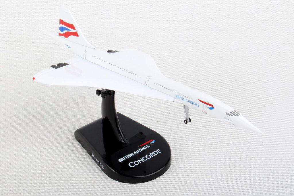 Postage Stamp Die-Cast Concorde British Airways 1:350 Scale PS5800-2 - Skywing World