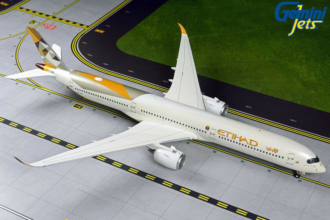 Gemini Jets Etihad Airways Airbus A350-1000 G2ETD883 1:200 Scale With Stand - Skywing World