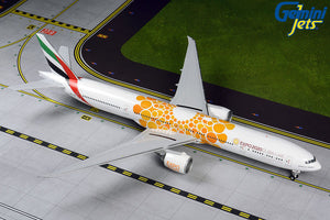 "Gemini Jets Emirates Boeing B777-300ER ""Orange Expo"" 2020 1:200 Scale G2UAE800 - Skywing World"