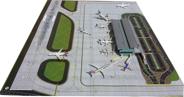 Gemini Jets 1:400 Scale Airside/Landside Airport Terminal GJARPTB - Skywing World