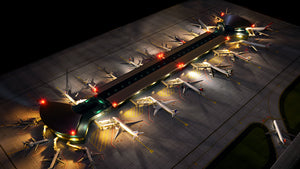 Gemini Jets 1:400 Scale Deluxe Airport Terminal GJARPTC - Skywing World