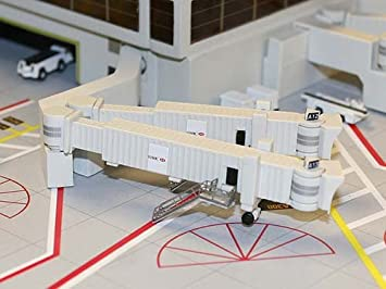 Gemini Jets Set of 3 Wide Body Jetway Air Bridges. 1:400 Scale GJARBRDG2 - Skywing World