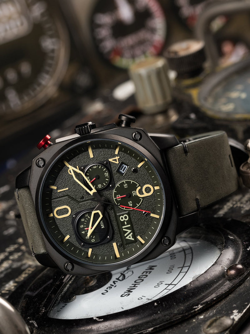 AVI-8 Hawker Hunter Men Chronograph Quartz AV-4052-08