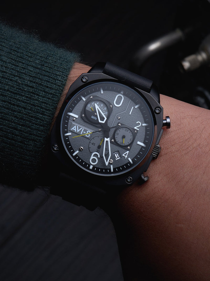 AVI-8 Hawker Hunter Men Chronograph Quartz AV-4052-R1