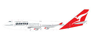 Gemini Jets Qantas Boeing B747-400 1:200 Scale G2QFA734 - Skywing World